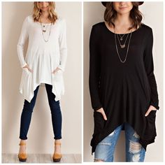Spotted while shopping on Poshmark: Slouchy Two Pocket Tunic! #poshmark #fashion #shopping #style #Vivacouture #Tops