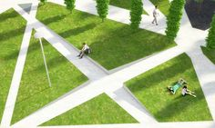 gh3-scholars-green-park-drawing-04-wedges « Landscape Architecture Works | Landezine Landscape Architecture Works | Landezine
