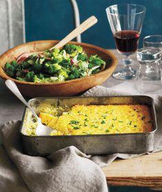 Creamy Corn Pudding Recipe | Real Simple