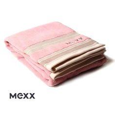 Różowy ręcznik Mexx Cleveland - ręczniki MEXX - NieMaJakwDomu