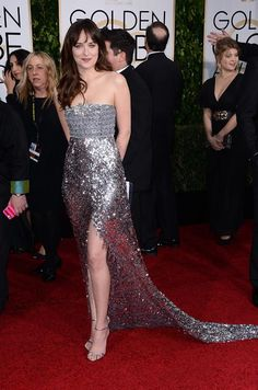 Dakota Johnson in Chanel Couture
