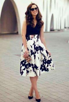 Beautiful midi skirt 3 outfit of the day midi skirts, skirts Jw Fashion, Modest Fashion, Look Fashion, Autumn Fashion, Fashion Dresses, Mode Outfits, Skirt Outfits, Dress Skirt, Dress Up