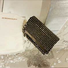 """BCBG Rhinestone Studded Purse 