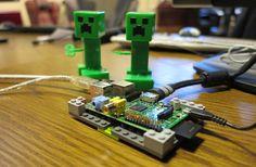 Raspberry Pi + Minecraft = To much fun!