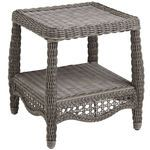 Sunset Pier End Table - Gray