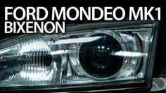 #Ford #Mondeo MK1 #xenon headlights with lens projectors #bixenon #cars