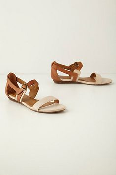 Summer is way too short to wear all the sandalsI want.  Helena Sandal, leather upper.  #anthropologie