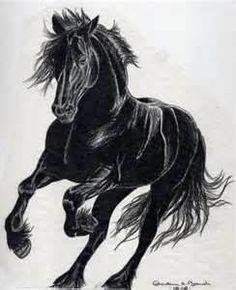 Horse Tattoo By CharliB1 On DeviantART