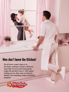 An Artist Reversed The Gender Roles In Sexist Vintage Ads To Point Out How Absurd They Really Are Le Genre, Gender Roles, Gender Issues, Parallel Universe, Kitchen Prints, Healthy People 2020 Goals, Archie Comics, Cute Pins, Vintage Ads