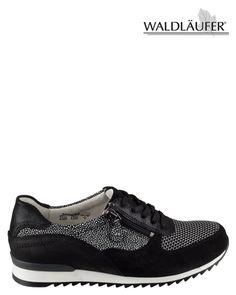 Waldlaufer 370013 Sneaker Zwart