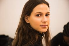 Pin for Later: How to Have Flawless Skin, According to Fashion Week's Top Models Jeanne Cadieu at Kate Spade New York