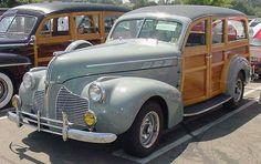 1940 Pontiac 25 Special Six Woodie Station Wagon