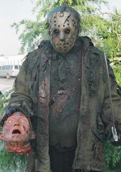 Freddy vs. Jason Horror Movie Characters, Slasher Movies, Jason Friday, Friday The 13th, Freddy Vs Jason Movie, Horror Icons, Horror Art, Horror Films, Robert Englund
