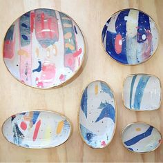 Ruby Pilven ceramics: