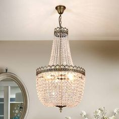 Lumos French Empire Antique Bronze 5 light Crystal Chandelier Ceiling Pendant Lighting Fixture Lamp for dining room, Living room, Foyer, Lobby, Hallway -- Check this awesome product by going to the link at the image. (This is an affiliate link) Living Room Light Fixtures, Pendant Light Fixtures, Ceiling Pendant, Living Room Lighting, Pendant Lighting, Ceiling Lights, Foyer Lighting, Ceiling Fans, Chandelier For Sale