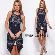 $36.99 Fashion-conscious Lace Mini Dress