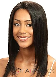 Lastest Trend Medium Straight Sepia African American Lace Wigs for Women