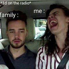 1d on the radio