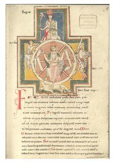Codex buranus, original manuscrit from Carmina Burana.