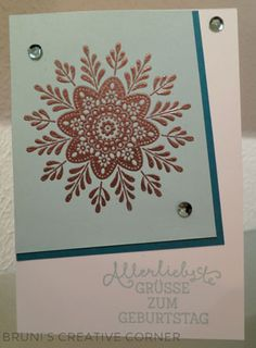 Stampin Up wintermedaillon is coming