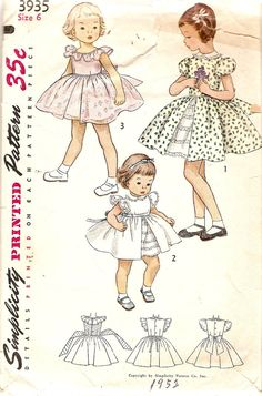 1950s Girls Dress