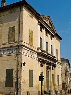 Villa Pisani, Montagnana. Palladio, 1553-1555.