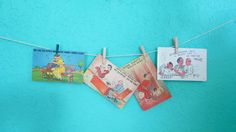 Set of Four Vintage Comical Illustrated Postcards by AdoredAnew