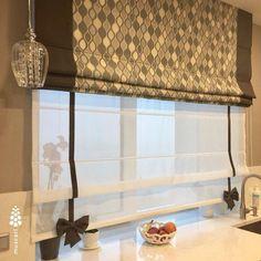 Zebra Blinds, Living Room Decor, Bedroom Decor, Interior Decorating, Interior Design, Kitchen Curtains, Window Treatments, Kitchen Design, Sweet Home