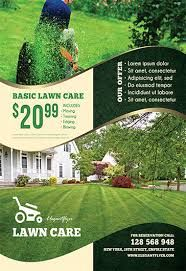 image result for lawn care flyer psd templates flyer template flyer free lawn