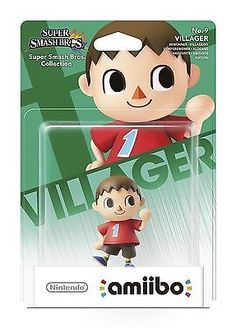 New VILLAGER Amiibo - Rare  - IN HAND - Nintendo Wii U 3DS Figure SEALED --.. USD 20.5