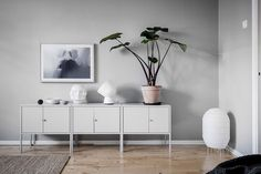 Ikea 'Lixhult' cabinets