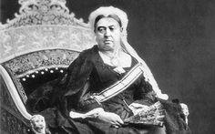 Queen Victoria Looking Unamused: QUEEN VICTORIA HATES SASHES  full face portrait