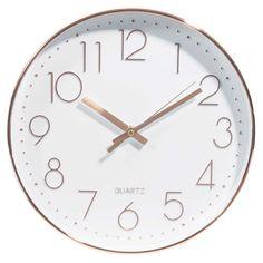 Horloge en plastique D 31 cm SWAGGY COPPER