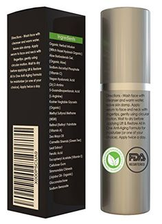 BEST VITAMIN C SERUM 25% WITH 15% HYALURONIC ACID BY Restore Skin Care LLC * Highest Quality   Strength * FREE Yourself From Wrinkles and Age Spots With Vitamin C Anti Aging Face Serum! * Visit the affiliate link Amazon.com on image for more details.