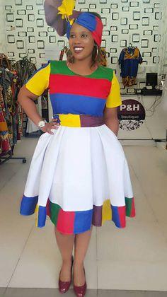 Fashion ideas on traditional african fashion 113 Xhosa Attire, African Attire, African Wear, African Dress, African Outfits, African Fashion Designers, Latest African Fashion Dresses, African Print Fashion, Africa Fashion
