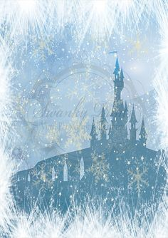 Frozen Inspired Castle - Oz Backdrops and Props