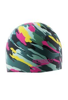 Hydro Tribe Cap: Army - Swim Caps - Speedo USA Swimwear (I want this!)