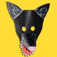 Masque prêt à imprimer - Carnaval Masque - Tête à modeler