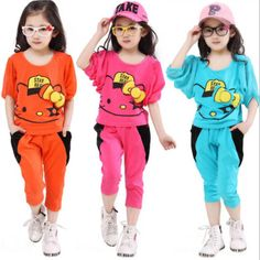 Conjuntos de ropa on AliExpress.com from $18.99 Stylish Little Girls, Cute Little Girls, Baby Girl Vest, Baby Dress, Girls Pajamas, Clothes For Sale, Kids Wear, Outfit Sets, Kids Girls