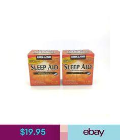 Sleeping Aids Kirkland Signature Nighttime Sleep Aid Doxylamine Succinate Tablets 25Mg 384 Ct #ebay #Fashion