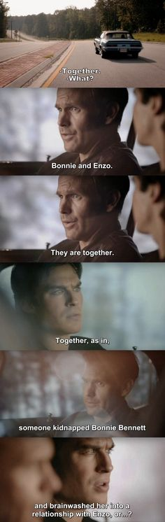 The Vampire Diaries TVD 7X18 - Damon and Rick