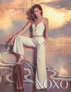 Lily Aldridge For XOXO's Spring Summer 2014 Campaign 01