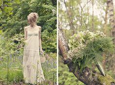Cottingley fairy woodland wedding inspiration - 010