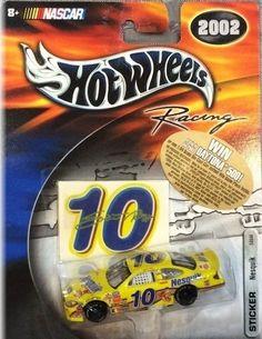 Hot Wheels Racing 2002 Nascar Scott Riggs  10 Diecast  Nesquik Free Shipping