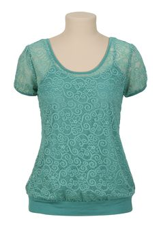 Swirl Textured Top - maurices.com