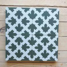 wie wäre es mit Grün?? Cement Tiles, Bespoke, Design, Monochrome, Colors, Taylormade