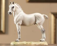 A King's Mount - by Breyer - inspired by one of Leonardo Da Vinci's drawings of horses.