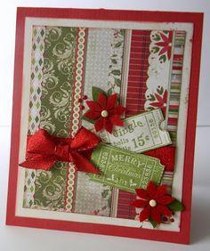 Christmas Card by Authentique Paper DT member Emily Lanham
