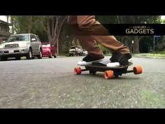 **Luxury-Gadgets** Leiftech Snowboard - Elektro-Skateboard Gadgets, Snowboard, Skateboard, Future, Skateboarding, Future Tense, Skate Board, Gadget, Skateboards