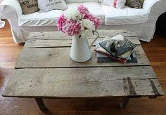 39 DIY Coffee Table Ideas - Guru Koala